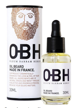 huile pour barbe OBH